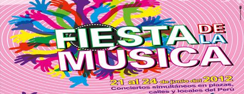 Fiesta de la Música del 21 al 24 de Junio
