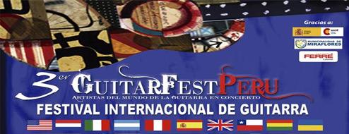 Guitarfest Perú - III Festival Internacional de Guitarra