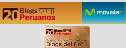 Vota por Jam.com.pe en el concurso 20 Blogs Peruanos