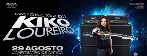 Kiko Loureiro en Lima - Laney Clinic Tour 2012