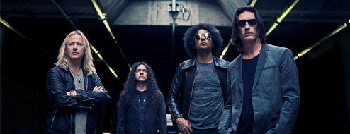 Alice in Chains en Lima: Octubre 2013