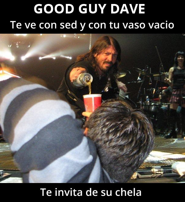 Good Guy Dave Grohl